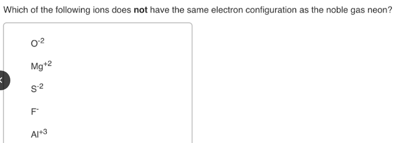 Which Of The Following Ions Does Not Have The Same Electron Clutch Prep