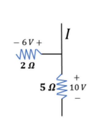 Image for Kirchhoff's Laws 1. In the picture on the below, what is the current in the wire above the junction? Does ch