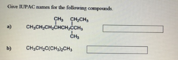 practice iupac name of organic compounds pdf