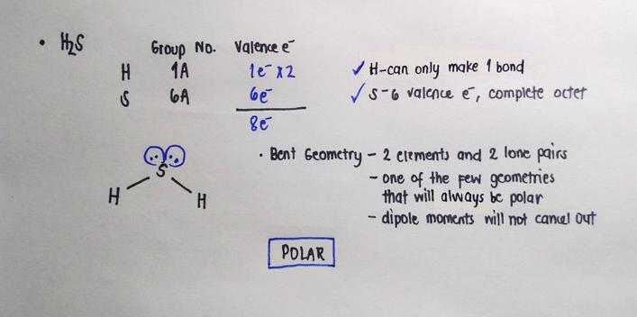 Solution Determine Whether Each Molecule Clutch Prep