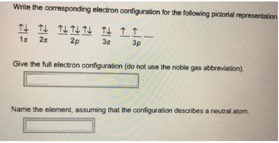 Electron configuration chemistry video clutch prep urtaz Images