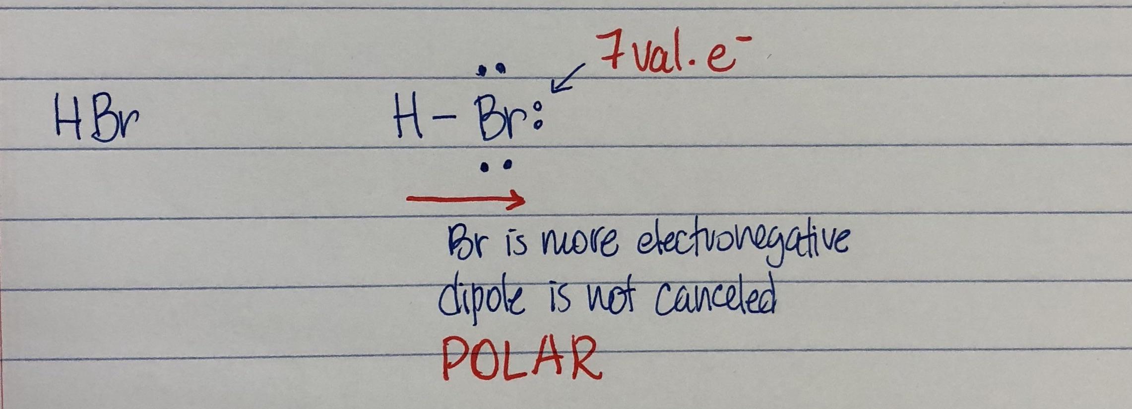 Solution Is Hbr A Polar Or Non Polar Mole Clutch Prep