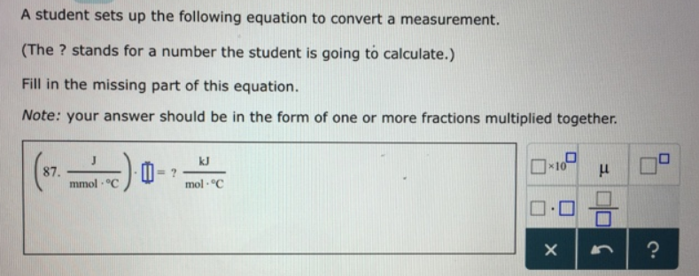A student sets up the following equation t... | Clutch Prep