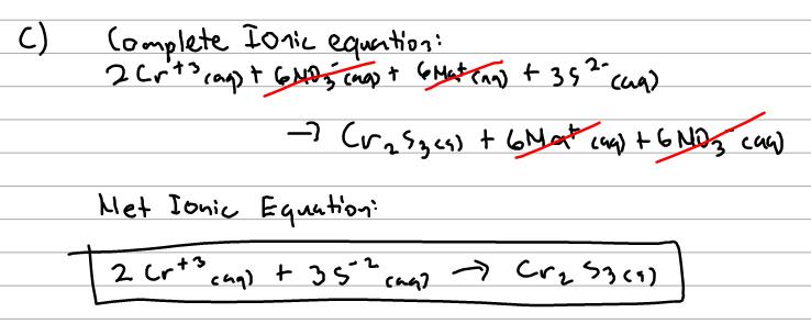 Net Ionic Equations - Chemistry Video | Clutch Prep
