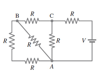 What is the net resistance of the circuit connecte