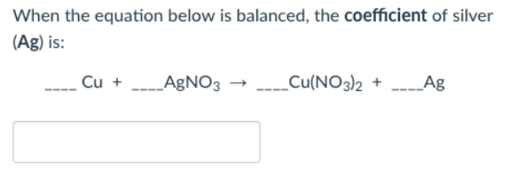 Balancing Chemical Equations - Chemistry Video | Clutch Prep