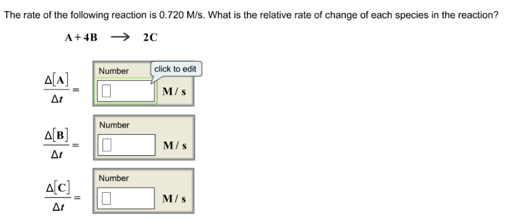 how to find average rate of reaction chemistry