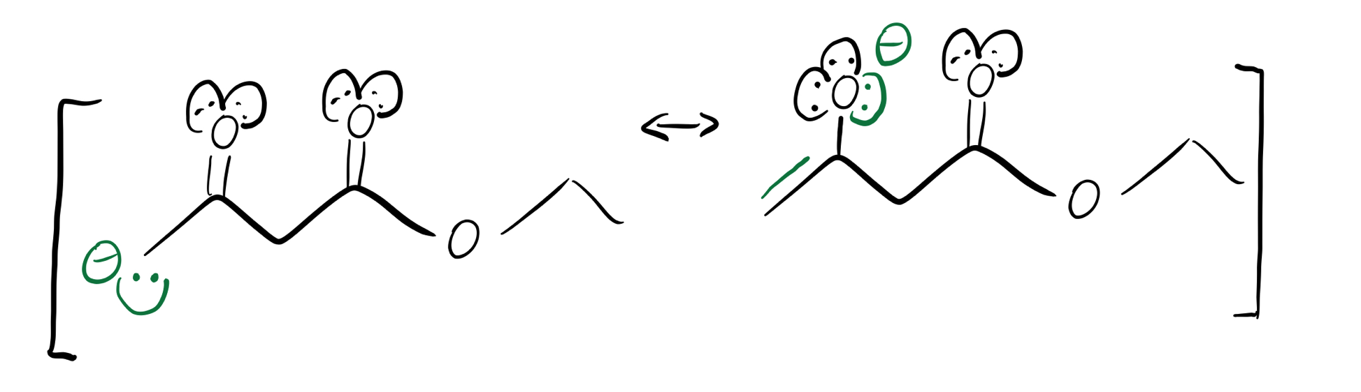green-enolate-resonance-structures
