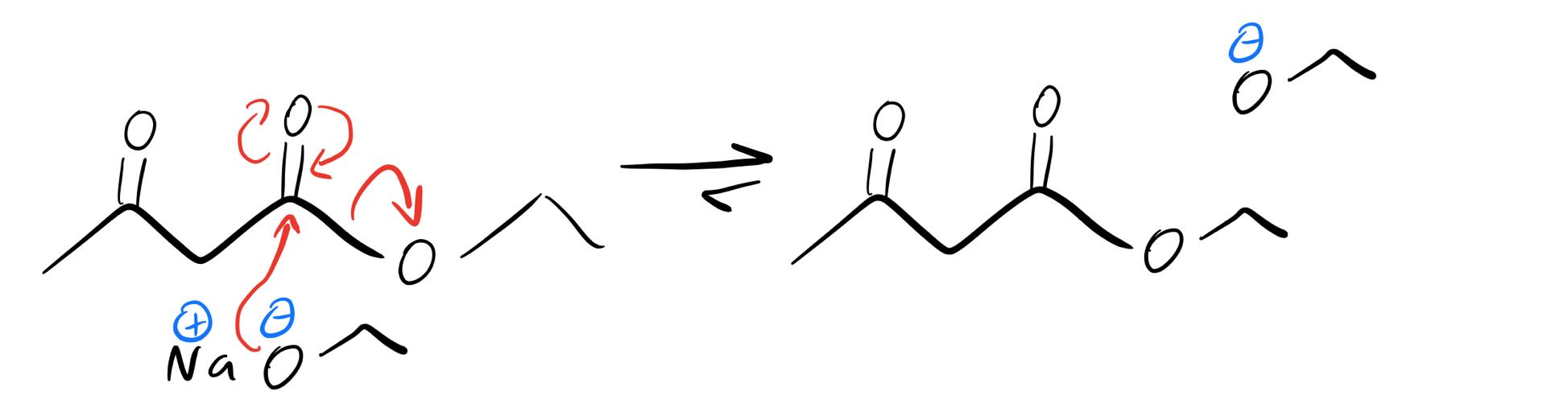 Fischer-esterification-with-sodium-ethoxide