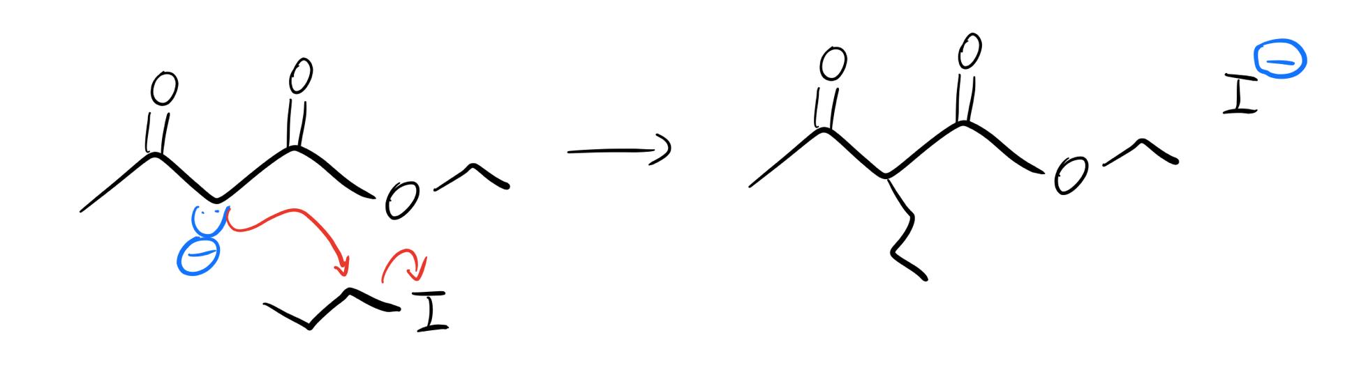Enolate-alkylation