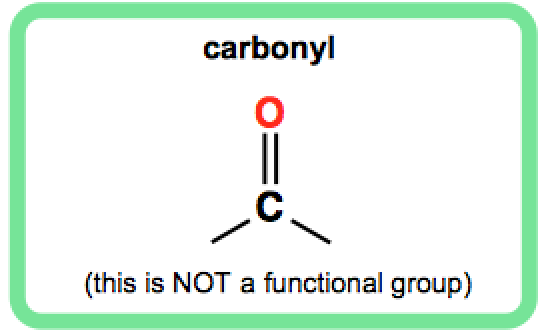 carbonyl-is-not-a-functional-group