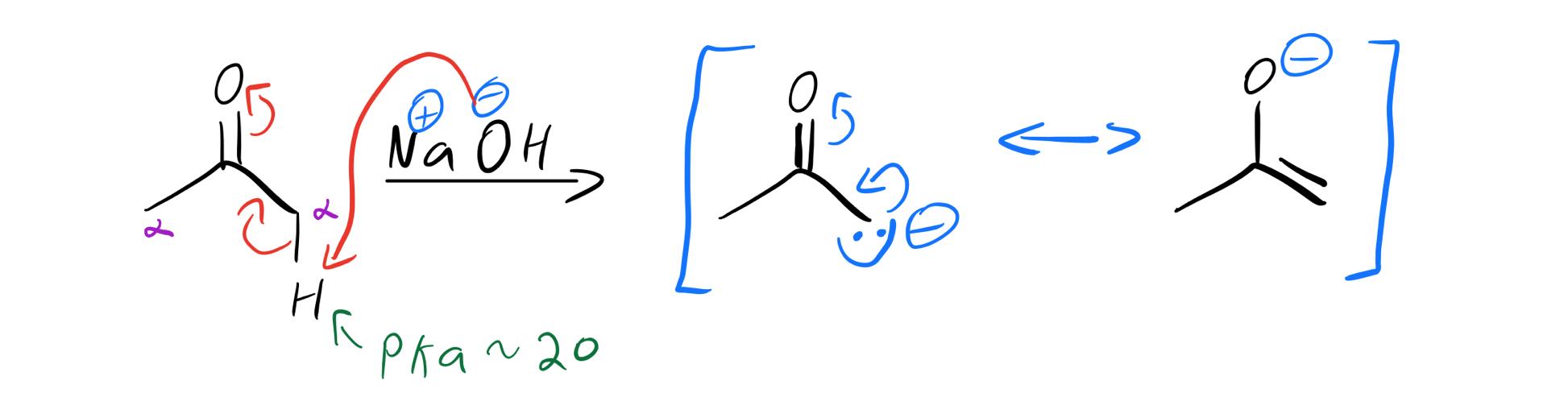 Enolate-formation