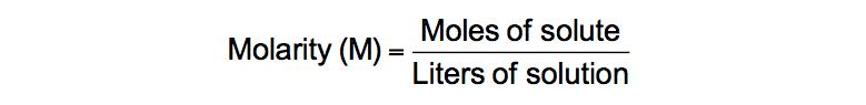 mol/l-w/v