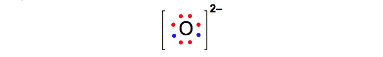 Lewis-Dot-Diagram-Oxide-Ion