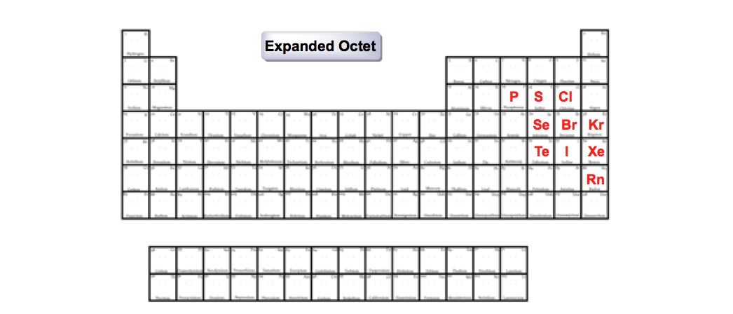 Expanded-Octet-nonmetals