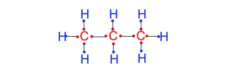 Lewis-Dot-Structure-C3H8
