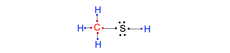 Lewis-Dot-Structure-CH3SH
