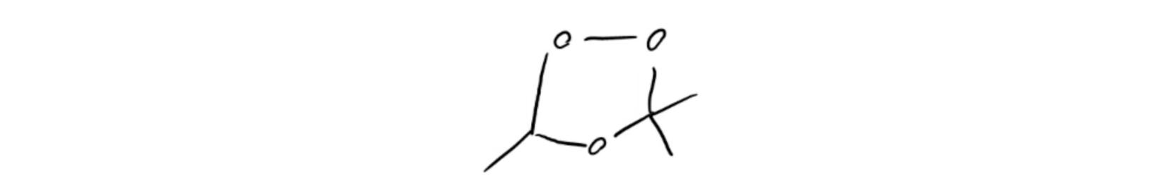 Ozonide-Intermediate