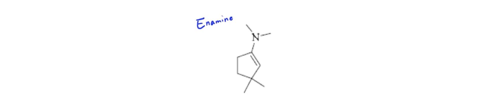 Enamine-Structure
