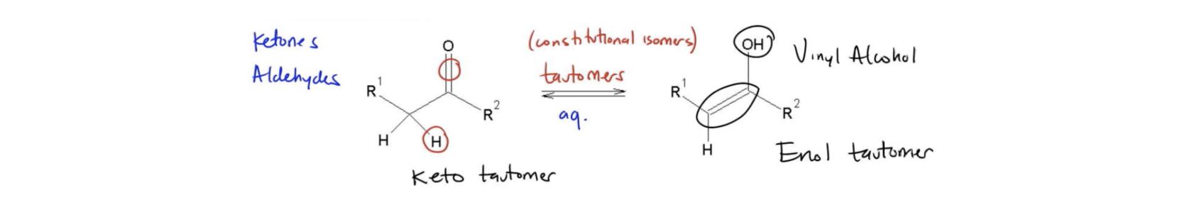 Keto-Enol-Tautomerization