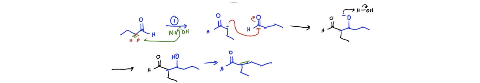 Aldol-Condensation-Mechanism